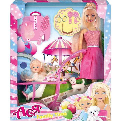 """Набор кукол Toys Lab """"Семья"""" Ася с малышкой, 28 см от Toys Lab"""