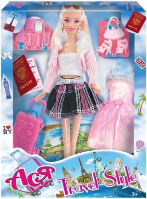 "Кукла Toys Lab ""Путешественница"" Ася, 28 см"