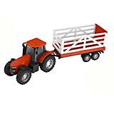 Машинка HTI Teamsterz Трактор с прицепом