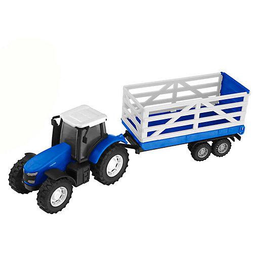 Машинка HTI Teamsterz Трактор с прицепом от HTI