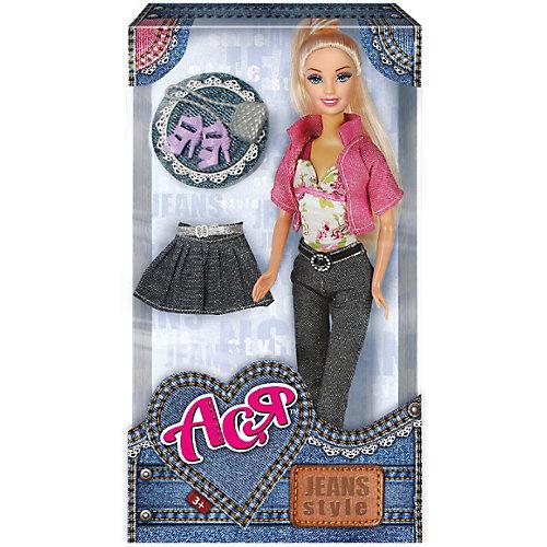 """Кукла Toys Lab """"Джинсовый стиль"""" Ася, 28 см от Toys Lab"""