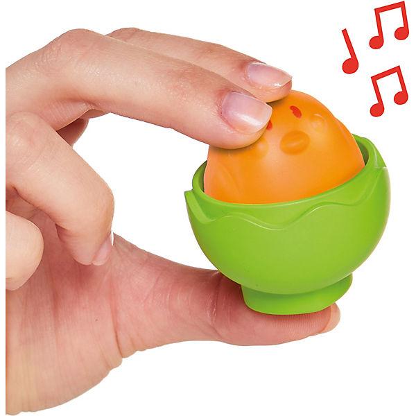 Toomies - Versteck- und Quieck Eier - Eierlauf-Set, TOMY XPC7f3