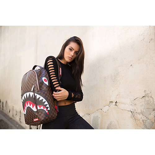 Рюкзак SprayGround Sharks in Paris - braun/schwarz от SprayGround