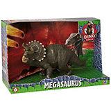 Игровая фигурка HTI Dino World Трицератопс, 28 см