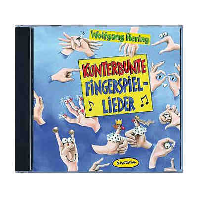 Kunterbunte Fingerspiel-Lieder, 1 Audio-CD