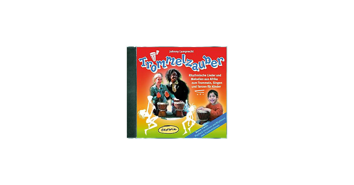 Trommelzauber, 2 Audio-CDs