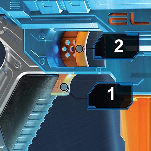 Игрушка бластер НЁРФ E2.0. Турбина от Hasbro