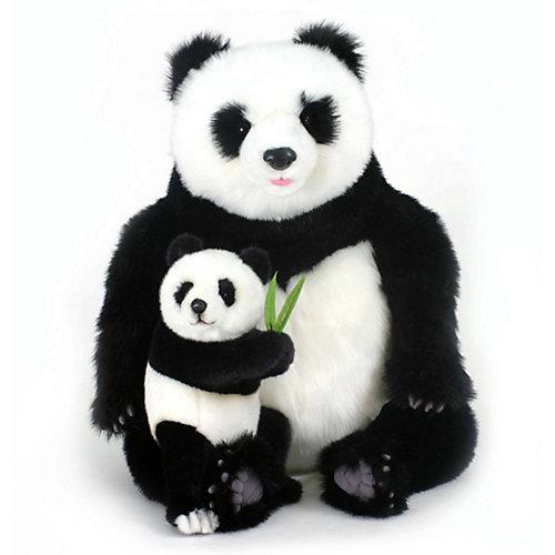 Мягкая игрушка Hansa Панда с детенышем от Hansa