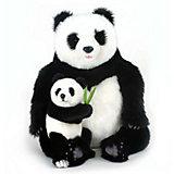 Мягкая игрушка Hansa Панда с детенышем