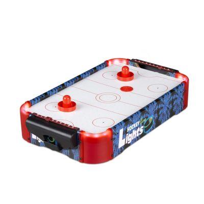 Airhockey Tischspiel LED mehrfarbig
