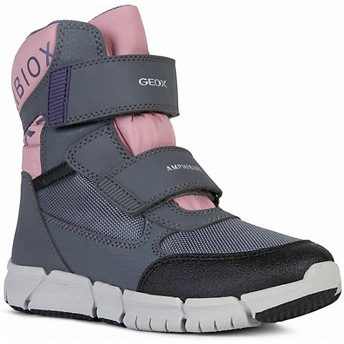 Утеплённые сапоги Geox - rosa/grau от GEOX