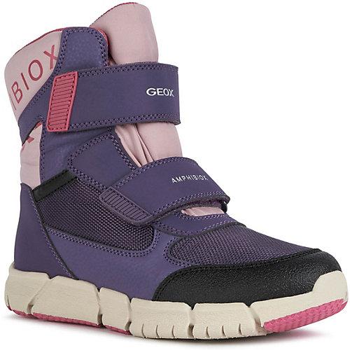 Утеплённые сапоги Geox - фиолетово-розовый от GEOX