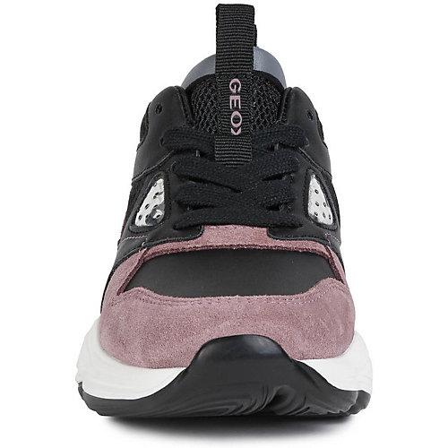 Кроссовки Geox - черный/розовый от GEOX