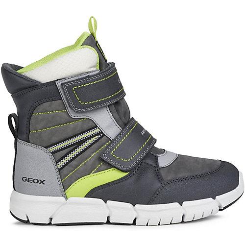 Утеплённые ботинки Geox - серый от GEOX