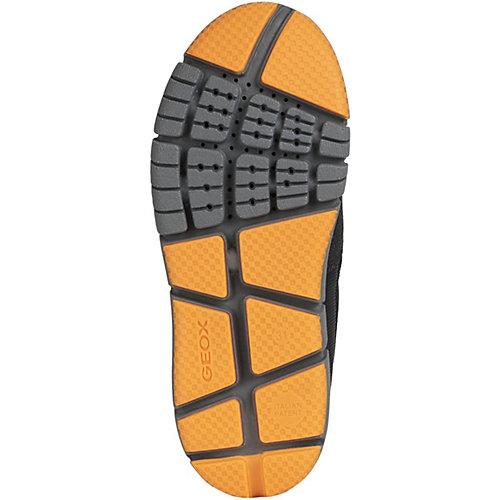 Утеплённые сапоги Geox - оранжевый/черный от GEOX
