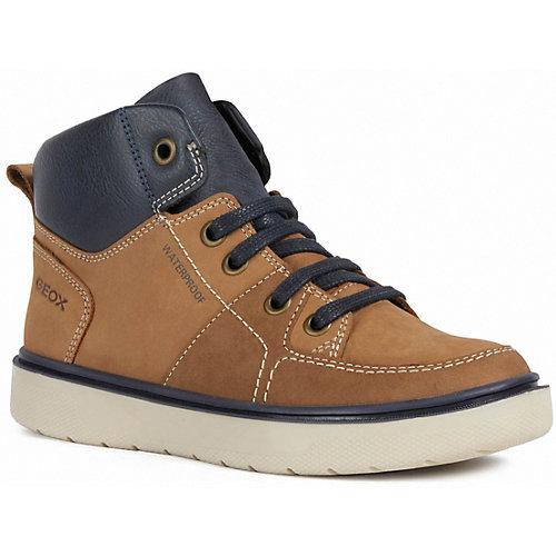 Утепленные ботинки Geox - коричнево-синий от GEOX