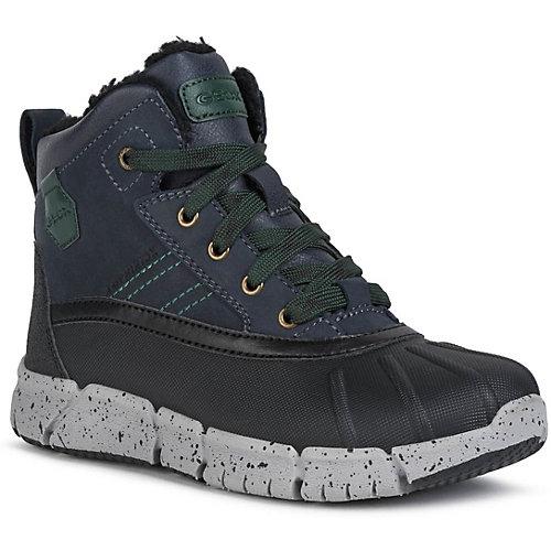 Утеплённые ботинки Geox - синий/зеленый от GEOX