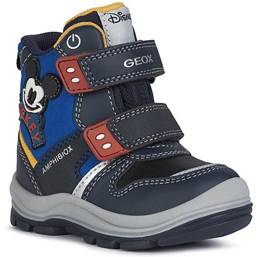 Утепленные сапоги Geox - темно-синий от GEOX