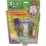 """Набор для создания слайма Slimy """"Слайми: монстры"""", с игрушкой"""