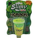 """Слайм Slimy """"Ужастики"""", с игрушкой"""