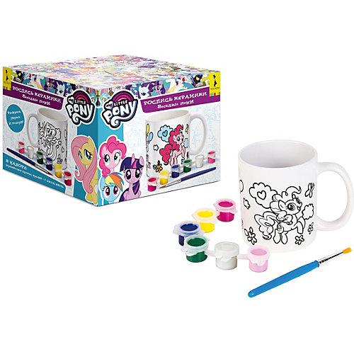 """Набор для творчества My Little Pony """"Роспись керамики: веселые пони"""" от Росмэн"""