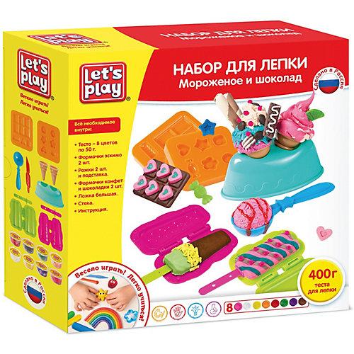 "Набор для лепки Let`s play ""Мороженое и шоколад"" от Let`s Play"