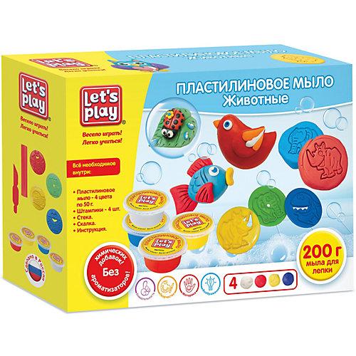 """Игровой набор Let's play """"Пластилиновое мыло: животные"""" от Let`s Play"""