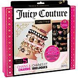 """Набор для создания украшений Juicy Couture """"Стильные браслеты"""", 130 деталей"""