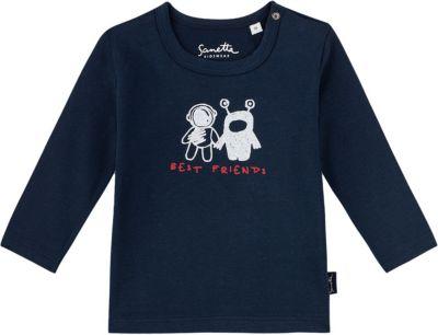 Sanetta Baby-Jungen Shirt Langarmshirt