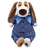 Мягкая игрушка Budi Basa Собачка Бартоломей в рубашке и штанах, 33 см