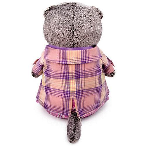 Мягкая игрушка Budi Basa Кот Басик в пиджаке в сиреневую клетку, 22 см от Budi Basa