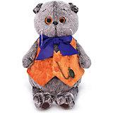 Одежда для мягкой игрушки Budi Basa Оранжевый жилет с часами, 19 см