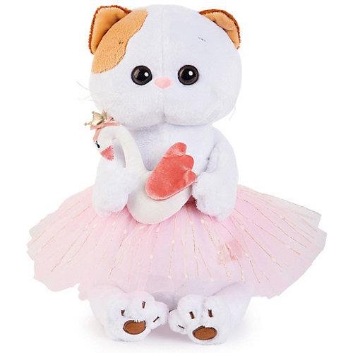 Мягкая игрушка Budi Basa Кошечка Ли-Ли балерина с лебедем, 24 см от Budi Basa