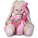 Мягкая игрушка Budi Basa Зайка Ми с сумкой - сердечком, 34 см