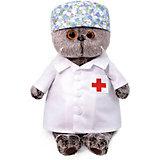 Мягкая игрушка Budi Basa Кот Басик - доктор, 19 см