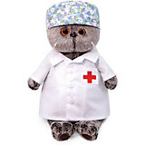 Мягкая игрушка Budi Basa Кот Басик - доктор, 22 см