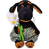 Мягкая игрушка Budi Basa Собачка Ваксон Baby с ромашками, 19 см