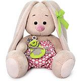 Мягкая игрушка Budi Basa Зайка Ми с лягушонком, 15 см