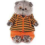 Одежда для мягкой игрушки Budi Basa Оранжевые штаны и толстовка с капюшоном, 19 см