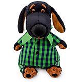 Мягкая игрушка Budi Basa Собачка Ваксон в рубашке и штанах, 25 см