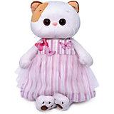 Мягкая игрушка Budi Basa Кошечка Ли-Ли в платье с бабочками, 24 см