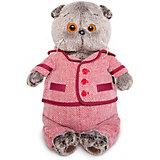 Одежда для мягкой игрушки Budi Basa Красный пиджак и брюки в ёлочку, 19 см