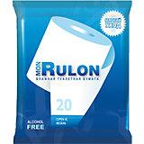 Влажная туалетная бумага Mon Rulon №20