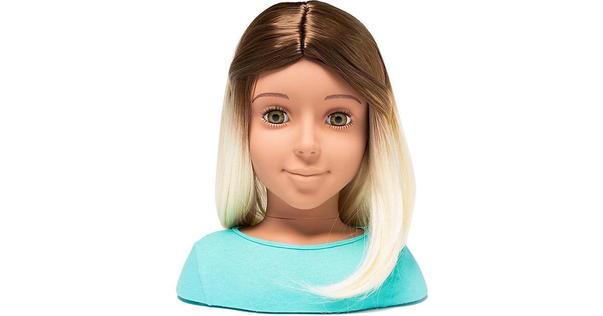 I'm a Stylist - Perücke braun/blond 33 cm Styling Heads bunt  Kinder