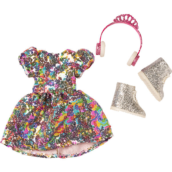 I'm a Wow - Never Enough Glitter Box, Glitzer-Outfit für 35 cm Wow-Puppe