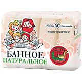 Туалетное мыло Невская косметика Банное, 4 шт по 100 г