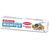 Зубная паста для детей Новый Жемчуг Волшебные фрукты, 50 мл