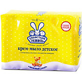 Крем-мыло Ушастый Нянь с ромашкой, 4 шт по 100 г
