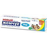 Зубная паста Новый Жемчуг Фтор, 125 мл