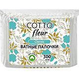 Ватные палочки Cotto Fleur classic, 300 шт